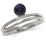 Natural Lapis 925 Sterling Silver ...