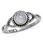 5MM Natural Round Shape Moonstone ...
