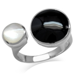 Mother of Pearl & Created Black On...