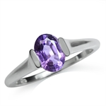 1.22ct. Natural Amethyst 925 Sterl...
