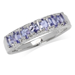 1.05ct. Genuine Tanzanite White Go...